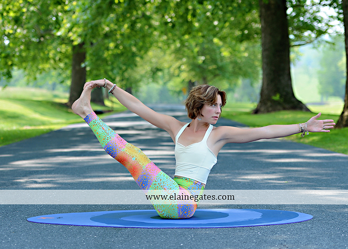 Mechanicsburg Central PA portrait photographer outdoor Qi Yo Oval Yoga mat mommayogini_83 road trees field grass sf 01