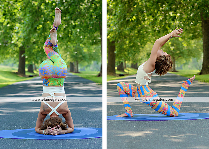 Mechanicsburg Central PA portrait photographer outdoor Qi Yo Oval Yoga mat mommayogini_83 road trees field grass sf 05