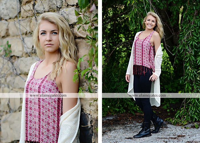 Mechanicsburg Central PA senior portrait photographer outdoor girl female fence field wood wall stone wall barn door wildflowers hammock bench tree swing formal ma 07