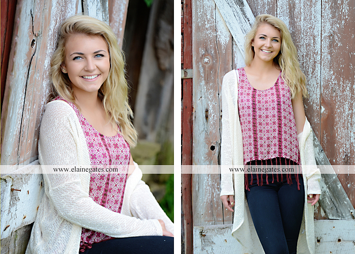 Mechanicsburg Central PA senior portrait photographer outdoor girl female fence field wood wall stone wall barn door wildflowers hammock bench tree swing formal ma 11