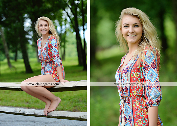 Mechanicsburg Central PA senior portrait photographer outdoor girl female fence field wood wall stone wall barn door wildflowers hammock bench tree swing formal ma 16