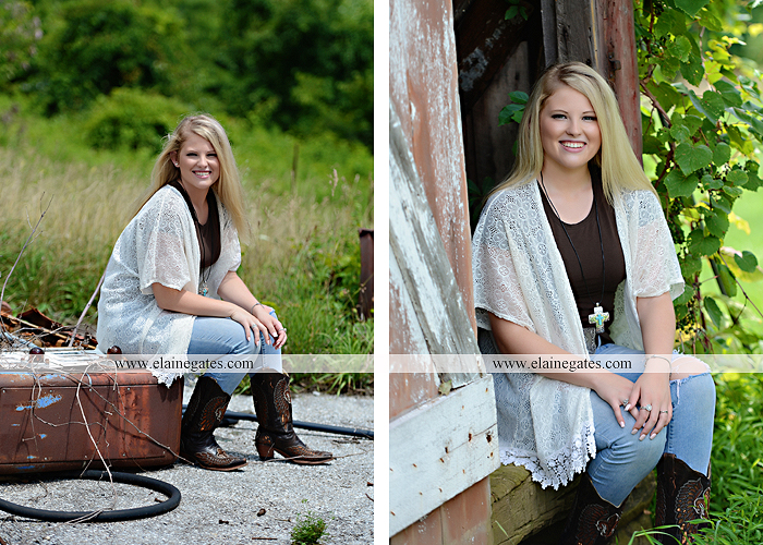 Mechanicsburg Central PA senior portrait photographer outdoor girl female fence trees field wood wall barn wildflowers grass hammock junk swing formal ep 06