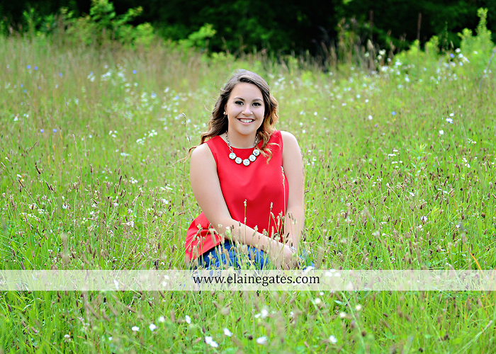 Mechanicsburg Central PA senior portrait photographer outdoor girl female field wildflowers stone wall wood wall formal trees grass water stream creek road sidewalk brick wall wooden swing 01