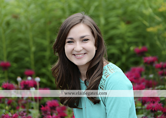 Mechanicsburg Central PA senior portrait photographer outdoor girl female water stream creek fence field formal tree wildflowers hammock wooden swing sl 08