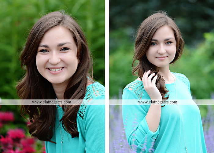 Mechanicsburg Central PA senior portrait photographer outdoor girl female water stream creek fence field formal tree wildflowers hammock wooden swing sl 10