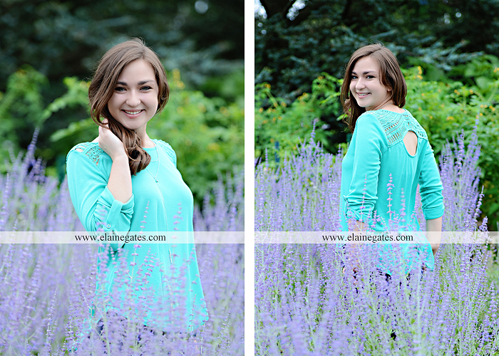 Mechanicsburg Central PA senior portrait photographer outdoor girl female water stream creek fence field formal tree wildflowers hammock wooden swing sl 11