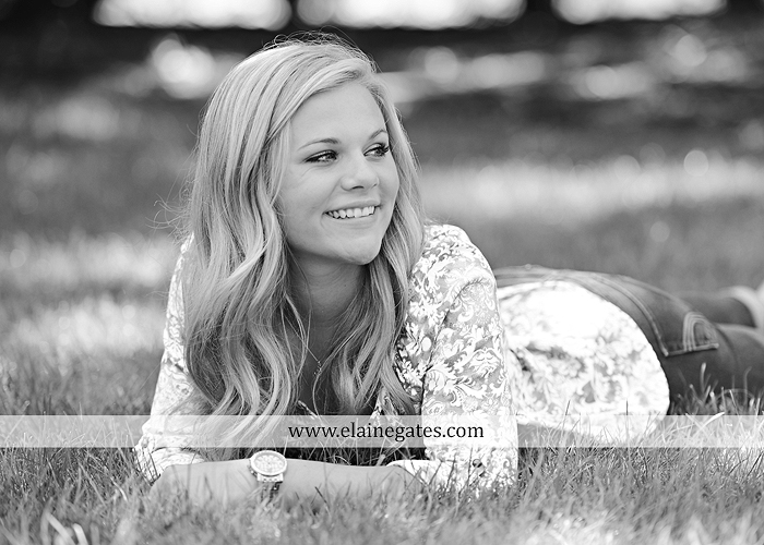 Mechanicsburg Central PA senior portrait photographer outdoor grass formal tree water stream creek fence field american flag usa ford pickup truck road brick wall stone wall wildflowers wooden swing 19