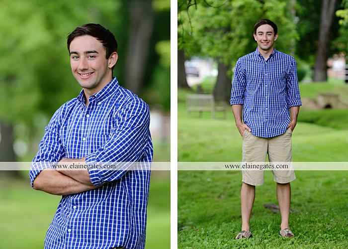 Mechanicsburg Central PA senior portrait photographer outdoor male guy baseball scoreboard dugout bench grass fence path road jd 05