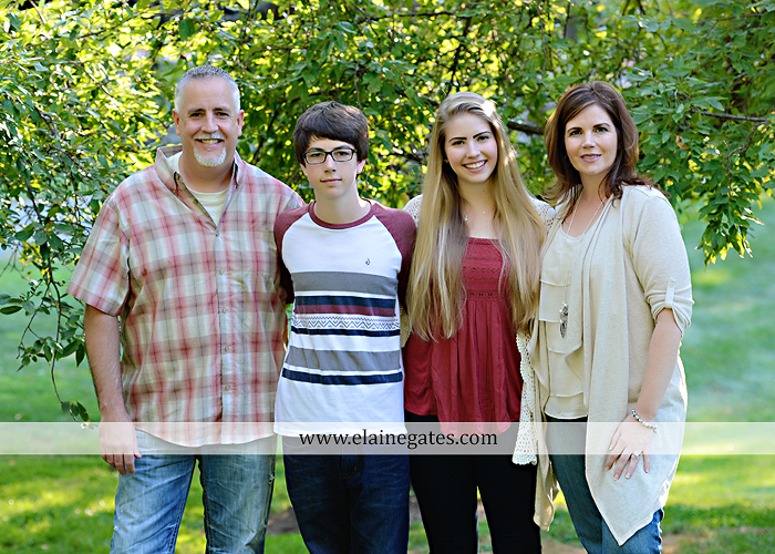 Mechanicsburg Central PA family portrait photographer outdoor carlisle dickinson college mother father sister brother parents dog trees grass stone wall adirondack chair mt 10