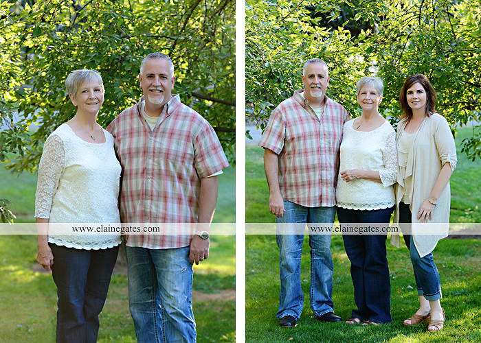 Mechanicsburg Central PA family portrait photographer outdoor carlisle dickinson college mother father sister brother parents dog trees grass stone wall adirondack chair mt 11