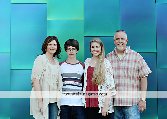 Mechanicsburg Central PA family portrait photographer outdoor carlisle dickinson college mother father sister brother parents dog trees grass stone wall adirondack chair mt 12