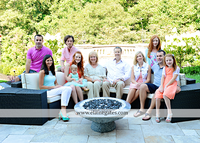 Mechanicsburg Central PA family portrait photographer outdoor  mother father sister brother parents children girls grandchildren toddler grass patio couch fire pit rl 01