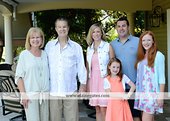Mechanicsburg Central PA family portrait photographer outdoor  mother father sister brother parents children girls grandchildren toddler grass patio couch fire pit rl 05