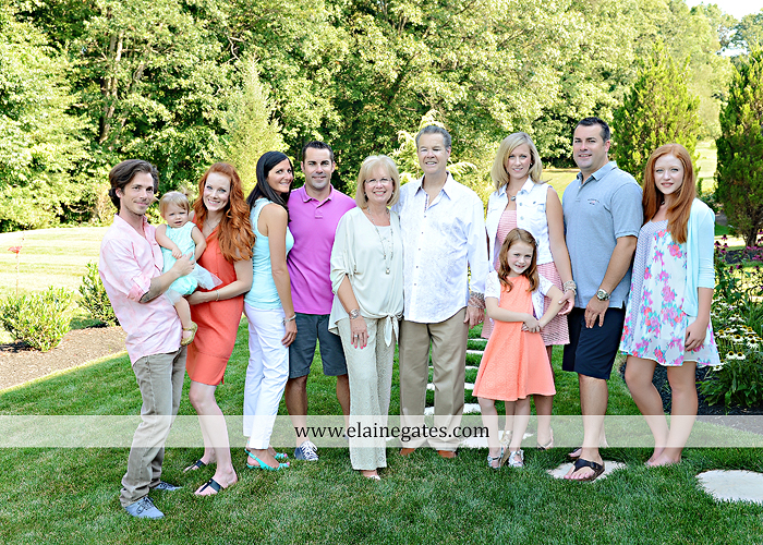 Mechanicsburg Central PA family portrait photographer outdoor  mother father sister brother parents children girls grandchildren toddler grass patio couch fire pit rl 08