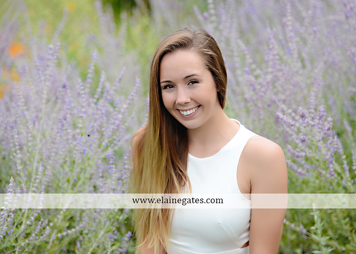 Mechanicsburg Central PA senior portrait photographer outdoor female girl formal wildflowers road field water stream creek bridge stone wall tree shore sister mother rocks fence grass mr 02