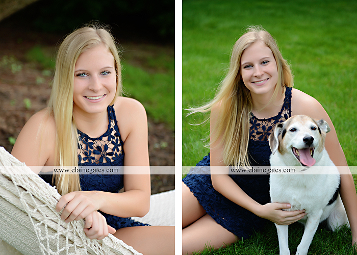 Mechanicsburg Central PA senior portrait photographer outdoor tree bench grass brother dog hammock road field water stream creek american flag usa barn wildflowers tire weights jump rope nk 04