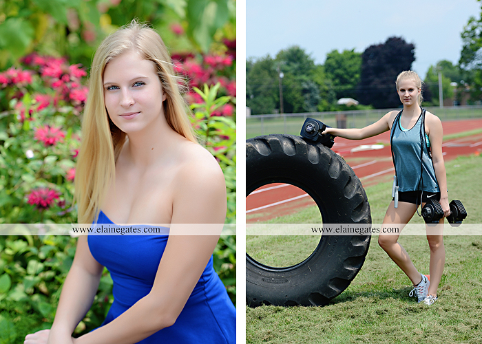 Mechanicsburg Central PA senior portrait photographer outdoor tree bench grass brother dog hammock road field water stream creek american flag usa barn wildflowers tire weights jump rope nk 14
