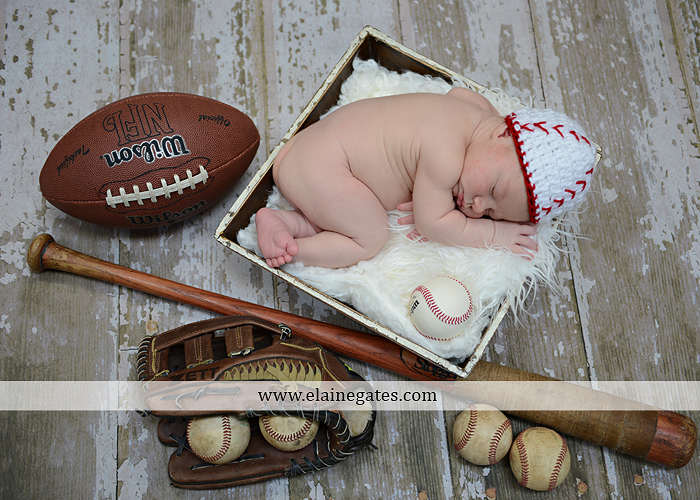 Mechanicsburg Central PA baby newborn kids portrait photographer outdoor boy grass trees dump truck indoor blanket hat baseball bat glove balls football brother mother kg 11