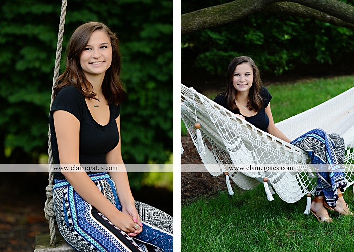 Mechanicsburg Central PA senior portrait photographer outdoor female girl hammock swing wildflowers brick wall brick steps grass guitar barn water sh 01