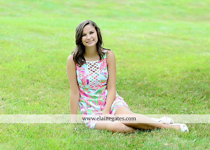 Mechanicsburg Central PA senior portrait photographer outdoor female girl hammock swing wildflowers brick wall brick steps grass guitar barn water sh 05