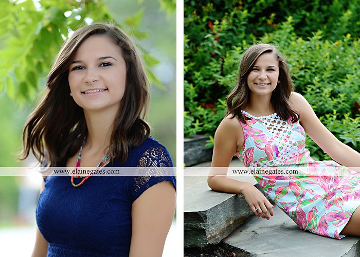 Mechanicsburg Central PA senior portrait photographer outdoor female girl hammock swing wildflowers brick wall brick steps grass guitar barn water sh 06