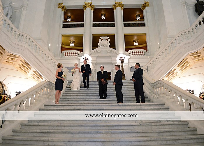 The Capital Rotunda Harrisburg pa wedding photographer the cake lady dukes riverside blue yellow white starlet 21