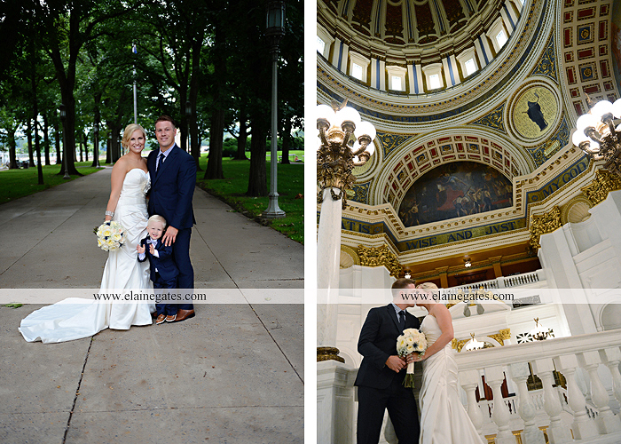 The Capital Rotunda Harrisburg pa wedding photographer the cake lady dukes riverside blue yellow white starlet 33