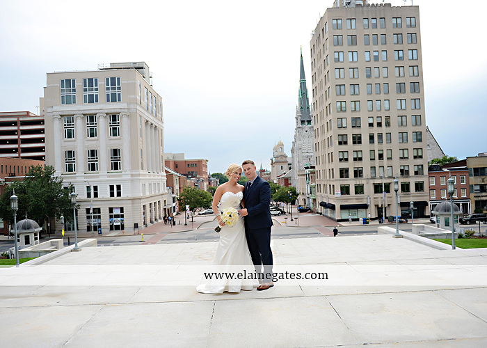 The Capital Rotunda Harrisburg pa wedding photographer the cake lady dukes riverside blue yellow white starlet 36