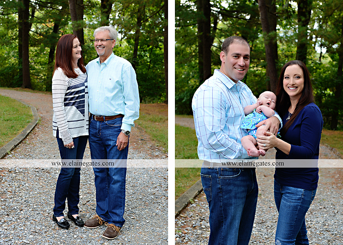 Mechanicsburg Central PA family portrait photographer outdoor boys brothers mother father sisters baby water stream creek trees covered bridge messiah college path rf 16