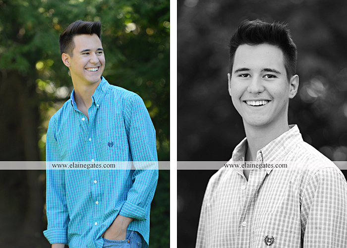 Mechanicsburg Central PA senior portrait photographer outdoor guy male formal trees grass wood stack forest bench nd 02