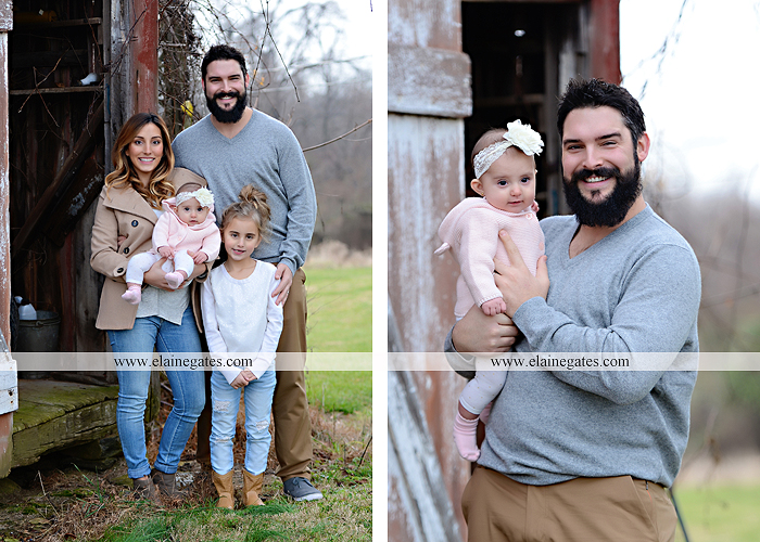 Mechanicsburg Central PA family portrait photographer outdoor girl toddler baby  mother father kiss kids field barn trees ar 10