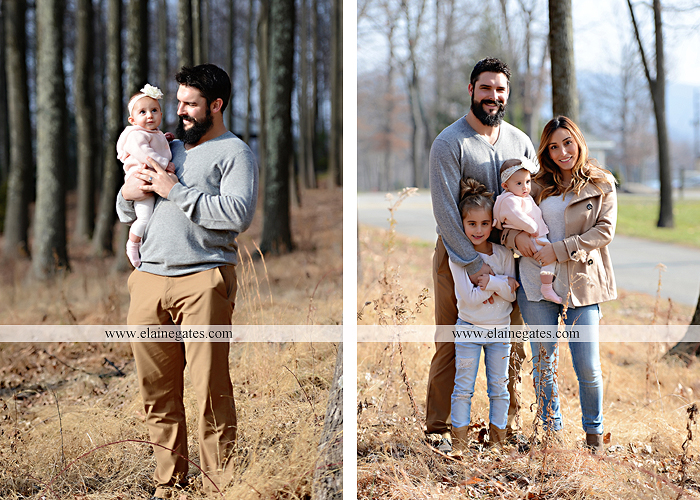 Mechanicsburg Central PA family portrait photographer outdoor girl toddler baby  mother father kiss kids field barn trees ar 13