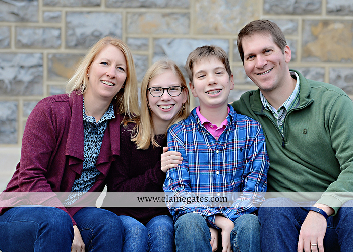 Mechanicsburg Central PA family portrait photographer outdoor girl boy sister brother husband wife father mother dickinson college grass adirondack chair path rocks stone wall leaves tree df 6