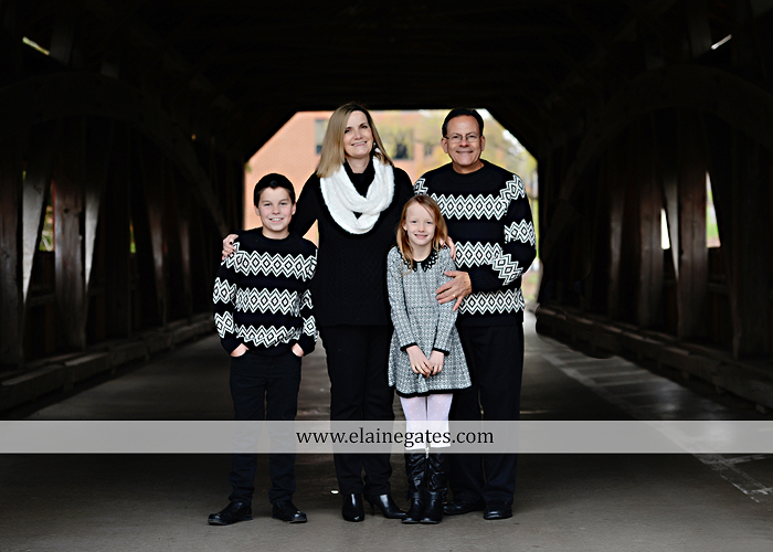 Mechanicsburg Central PA family portrait photographer outdoor girl boy son daughter mother father husband wife covered bridge messiah college trees water creek stream path asl 04
