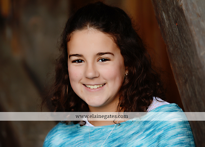 Mechanicsburg Central PA kids children portrait photographer outdoor boy girl brother sister water creek stream covered bridge messiah college leaves rocks wooden beams pittsburgh steelers path lg 5