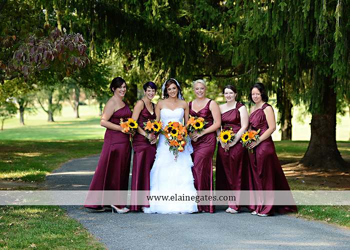 The Clubs at Colonial Ridge wedding photographer central pa harrisburg dark red orange J&S Events Garden Bouquet Alfred Angelo Men's Wearhouse David's Bridal Abe Presman Jeweler 16