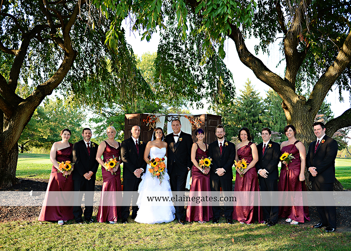 The Clubs at Colonial Ridge wedding photographer central pa harrisburg dark red orange J&S Events Garden Bouquet Alfred Angelo Men's Wearhouse David's Bridal Abe Presman Jeweler 34