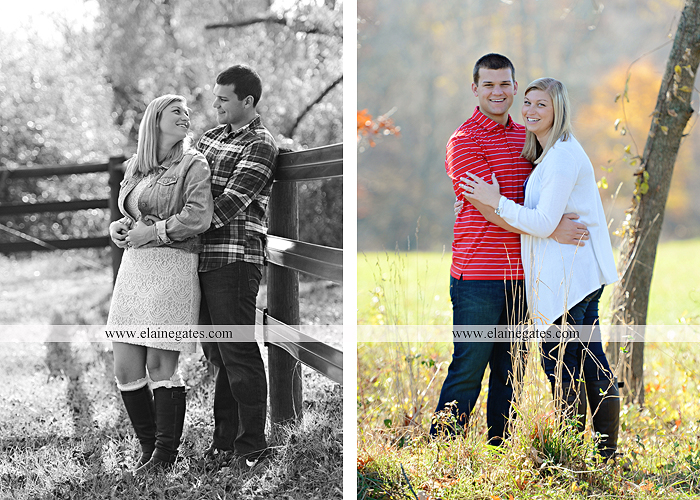 Mechanicsburg Central PA engagement portrait photographer outdoor barn fence field trees leaves dog hockey jersey baseball jersey new york yankees washington capitals bride groom mh 4