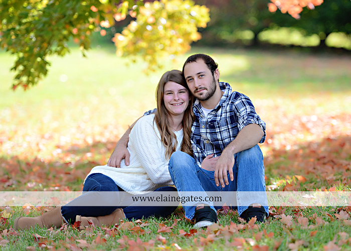 Mechanicsburg Central PA engagement portrait photographer outdoor boiling springs lake water grass trees leaves gazebo ducks ivy stone wall path heart wreath ra 4