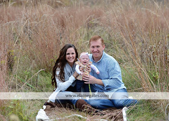 Mechanicsburg Central PA family portrait photographer outdoor baby girl daughter mother father grass trees water stream creek field leaves rm 02