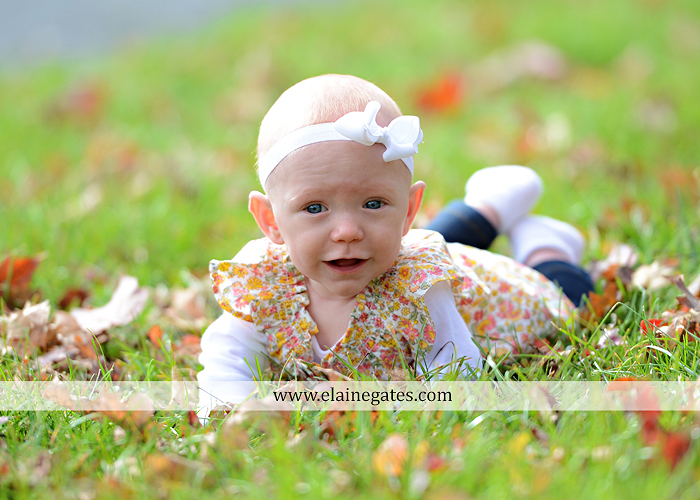 Mechanicsburg Central PA family portrait photographer outdoor baby girl daughter mother father grass trees water stream creek field leaves rm 04