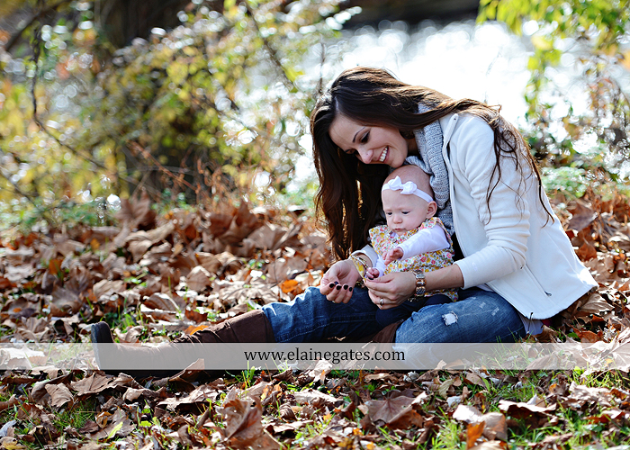 Mechanicsburg Central PA family portrait photographer outdoor baby girl daughter mother father grass trees water stream creek field leaves rm 08