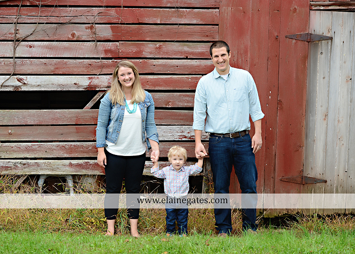 Mechanicsburg Central PA family portrait photographer outdoor son boy mother father husband wife barn field grass trees jk 1