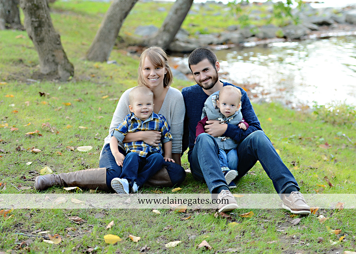 Mechanicsburg Central PA family portrait photographer outdoor son brothers mother father grass trees water stream creek field rocks nk 01