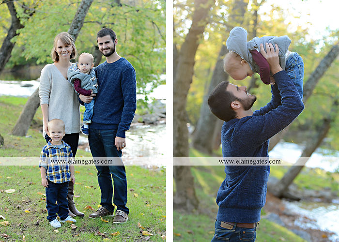 Mechanicsburg Central PA family portrait photographer outdoor son brothers mother father grass trees water stream creek field rocks nk 04
