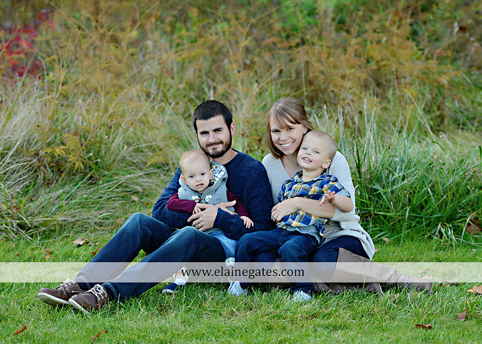 Mechanicsburg Central PA family portrait photographer outdoor son brothers mother father grass trees water stream creek field rocks nk 11