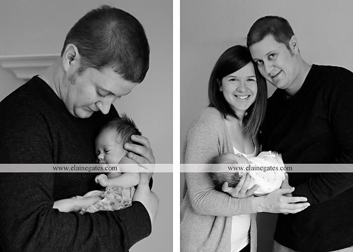 Mechanicsburg Central PA newborn baby portrait photographer girl sleeping indoor blanket bow knit hat mother father bowl basket tutu je 6