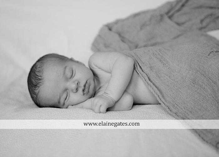 Mechanicsburg Central PA newborn baby portrait photographer girl sleeping indoor blanket sister mother jm 09