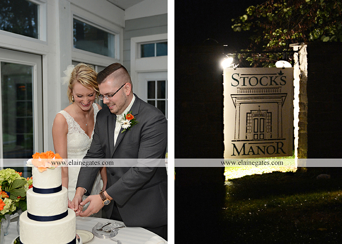 Stock's Manor wedding photographer central pa mechanicsburg orange blue gray Stock's on 2nd Couture Cakery Pealer's Mixed Up Productions Salon 944 Gown's by Design Joseph A. Bank46