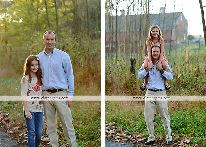 Mechanicsburg Central PA family portrait photographer outdoor children boy girls son daughters mother father husband wife grass road fence water stream creek leaves fall mf 16